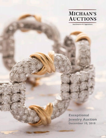 562808784 Exceptional Jewelry Auction catalog - December 10, 2018 by Michaan's ...