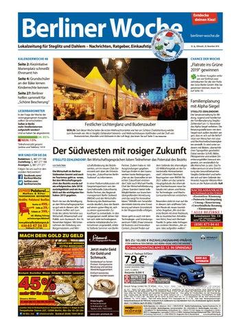 Rote Karte Gesundheitsamt Berlin.L20 Steglitz Dahlem By Berliner Woche Issuu