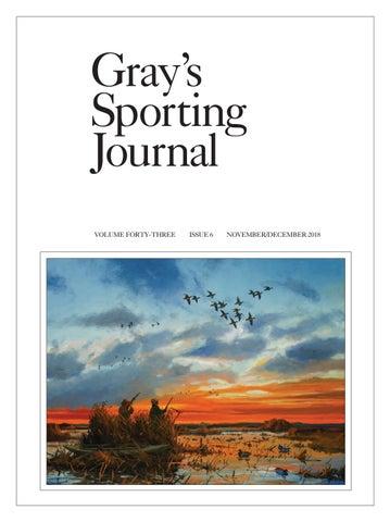08f112183f Gray s Sporting Journal - Nov Dec Edition 2018 by Cowboy Publishing ...