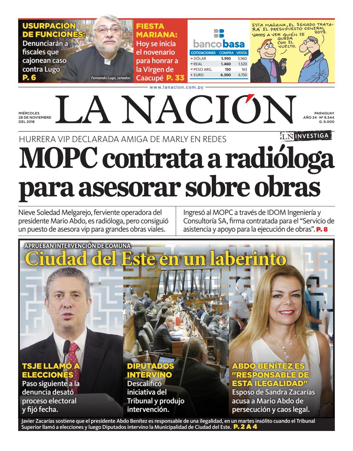 DIARIO LA NACIÓN - EDICIÓN 8.544 by La Nación - Issuu fa1de561028
