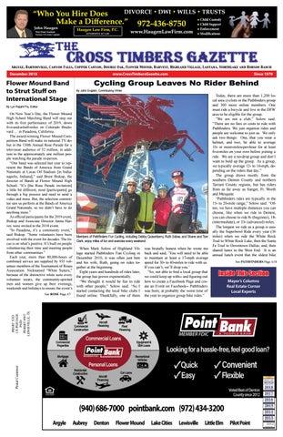 The Cross Timbers Gazette January 2019 By The Cross Timbers Gazette