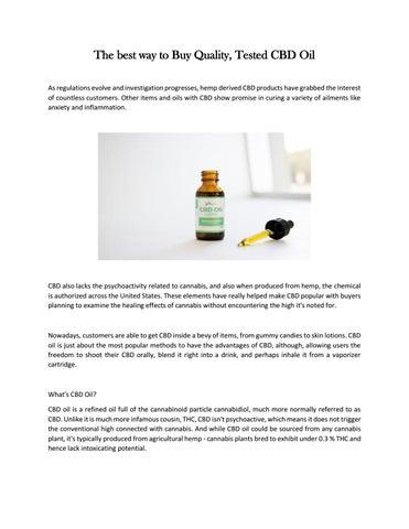 CBD oil partner by mail101045 - issuu