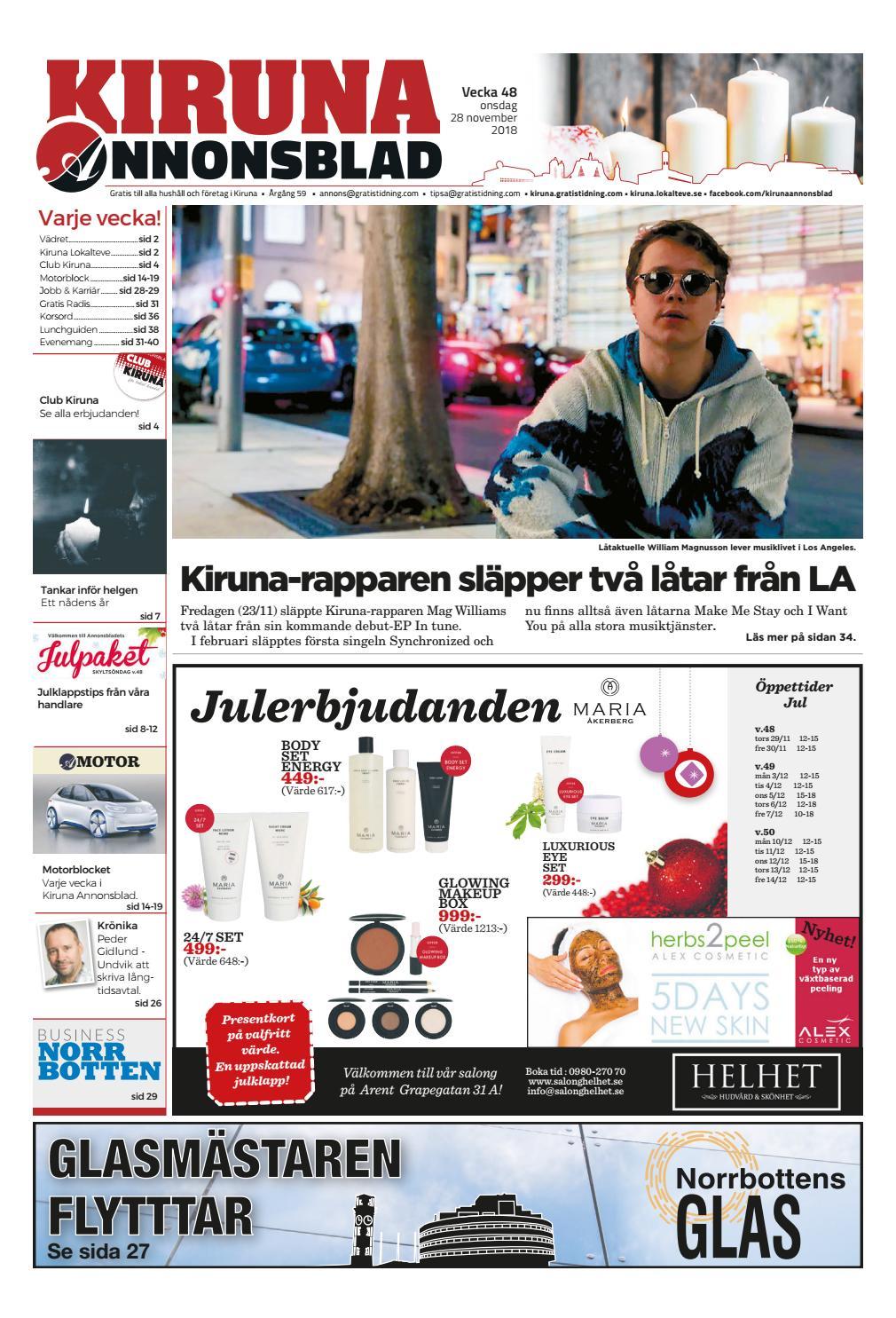 Kiruna Annonsblad vecka 48 193ac42f02aca