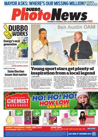 Dubbo Photo News 29 11 2018 by Panscott Media - issuu