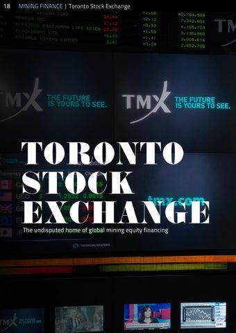 Page 18 of Toronto Stock Exchange