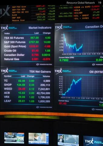 Page 19 of Toronto Stock Exchange