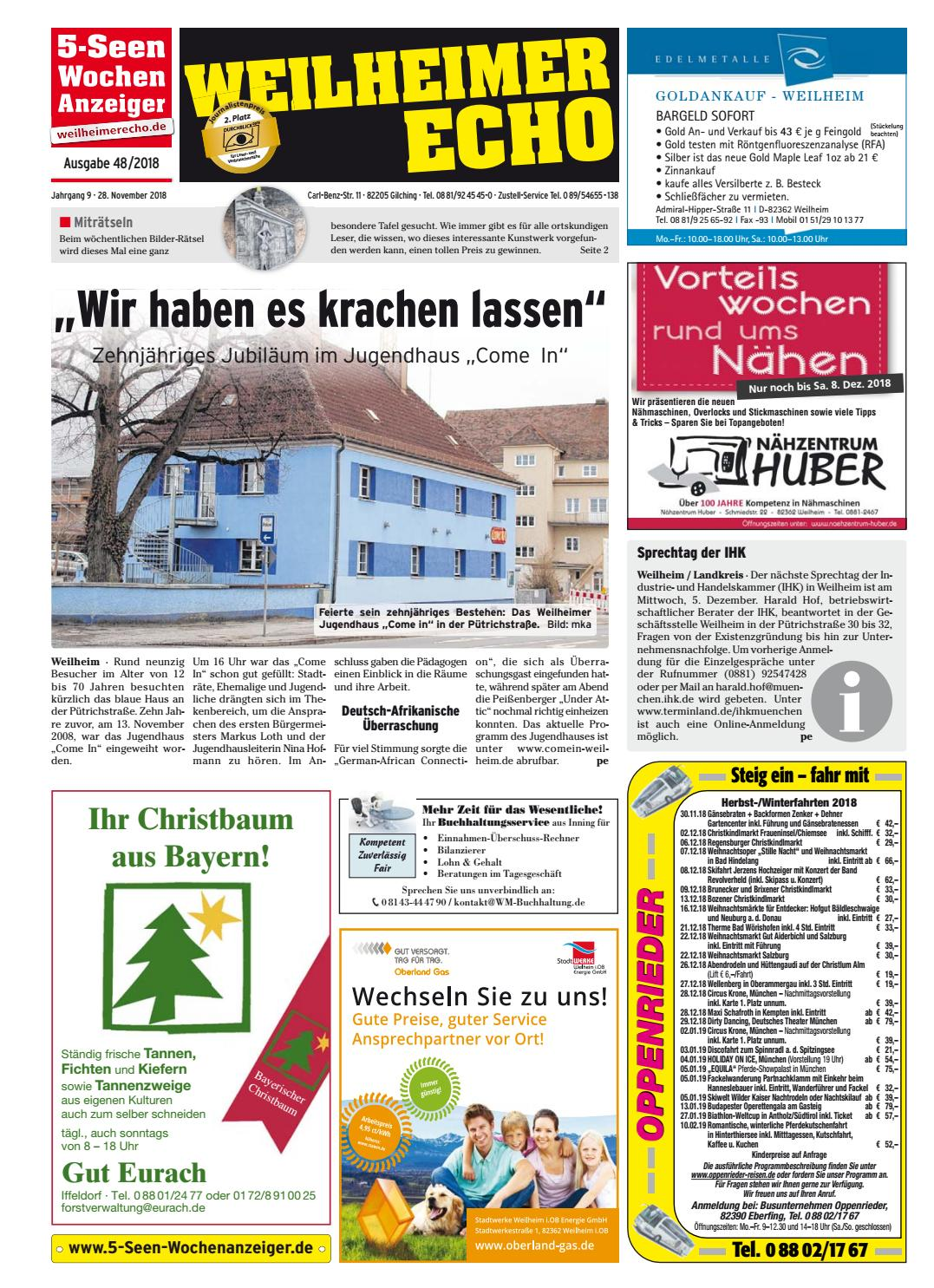 Lady aus Weilheim in Oberbayern