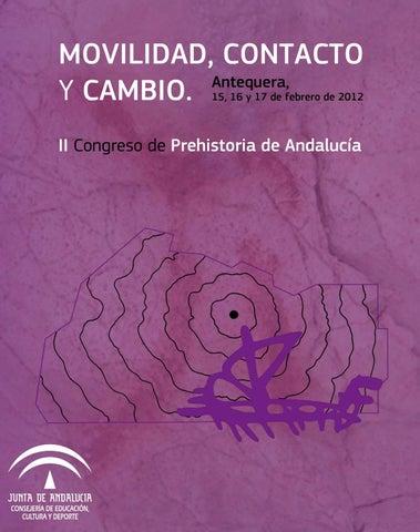 aff149515ee6 II Congreso de Prehistoria de Andalucía. Movilidad