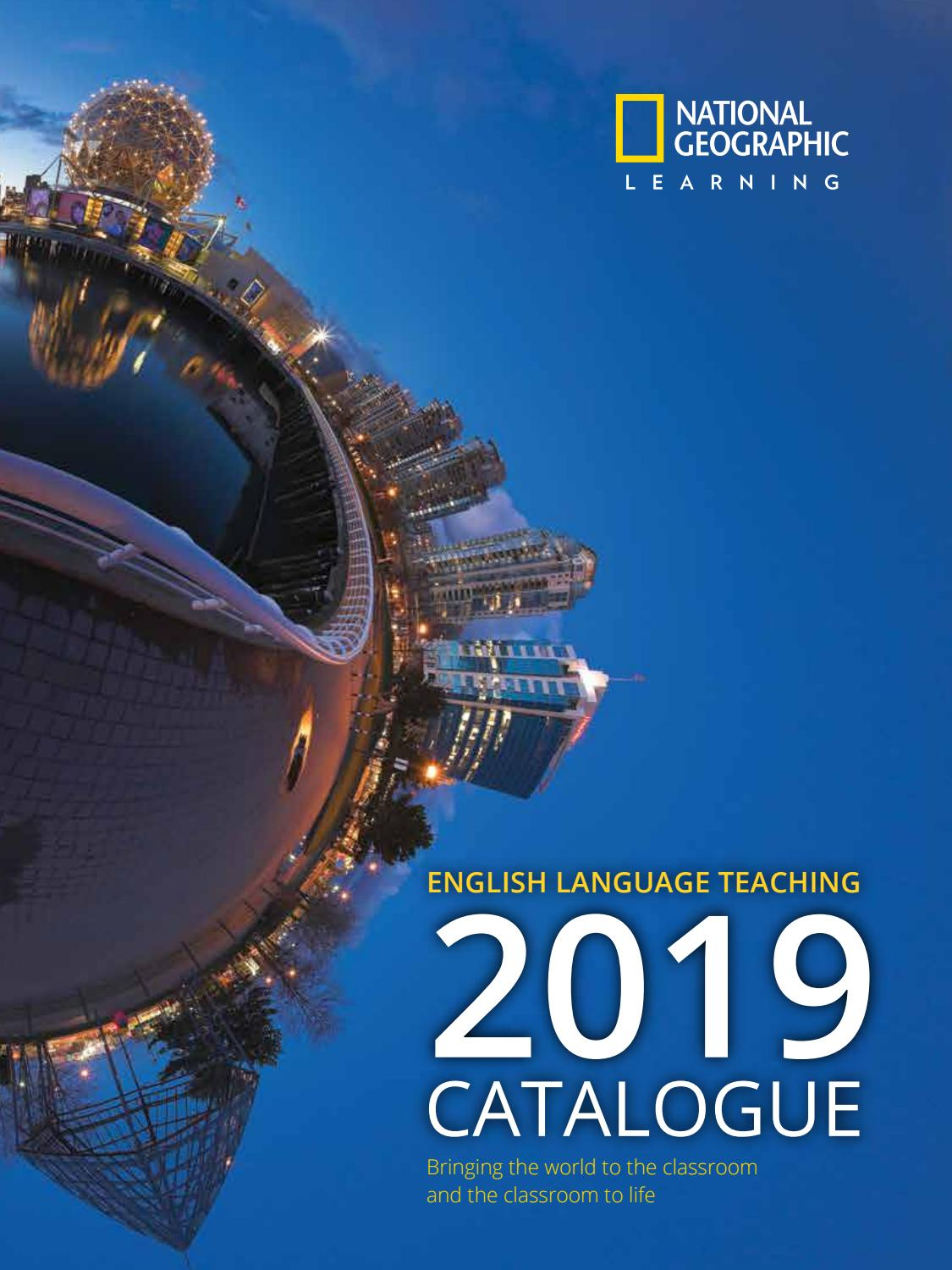 NATIONAL GEOGRAPHIC LEARNING   CATALOGUE 2019 by Cengage