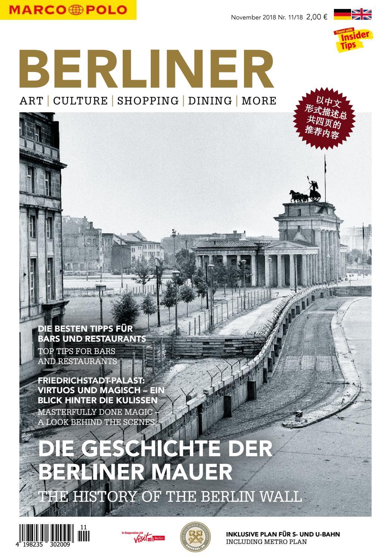 Marco Polo Berliner #11/18 by Berlin Medien GmbH - issuu