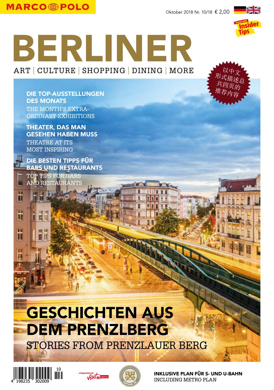 Marco Polo Berliner #10/2018 by Berlin Medien GmbH - issuu