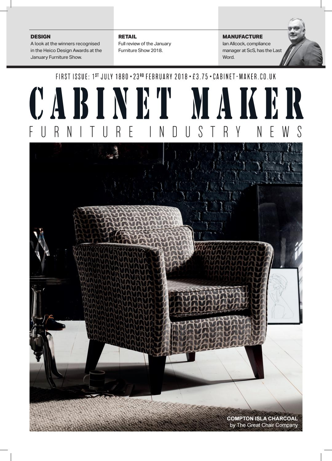 Cabinet Maker 23rd February 2018 by Chloe Bowers issuu