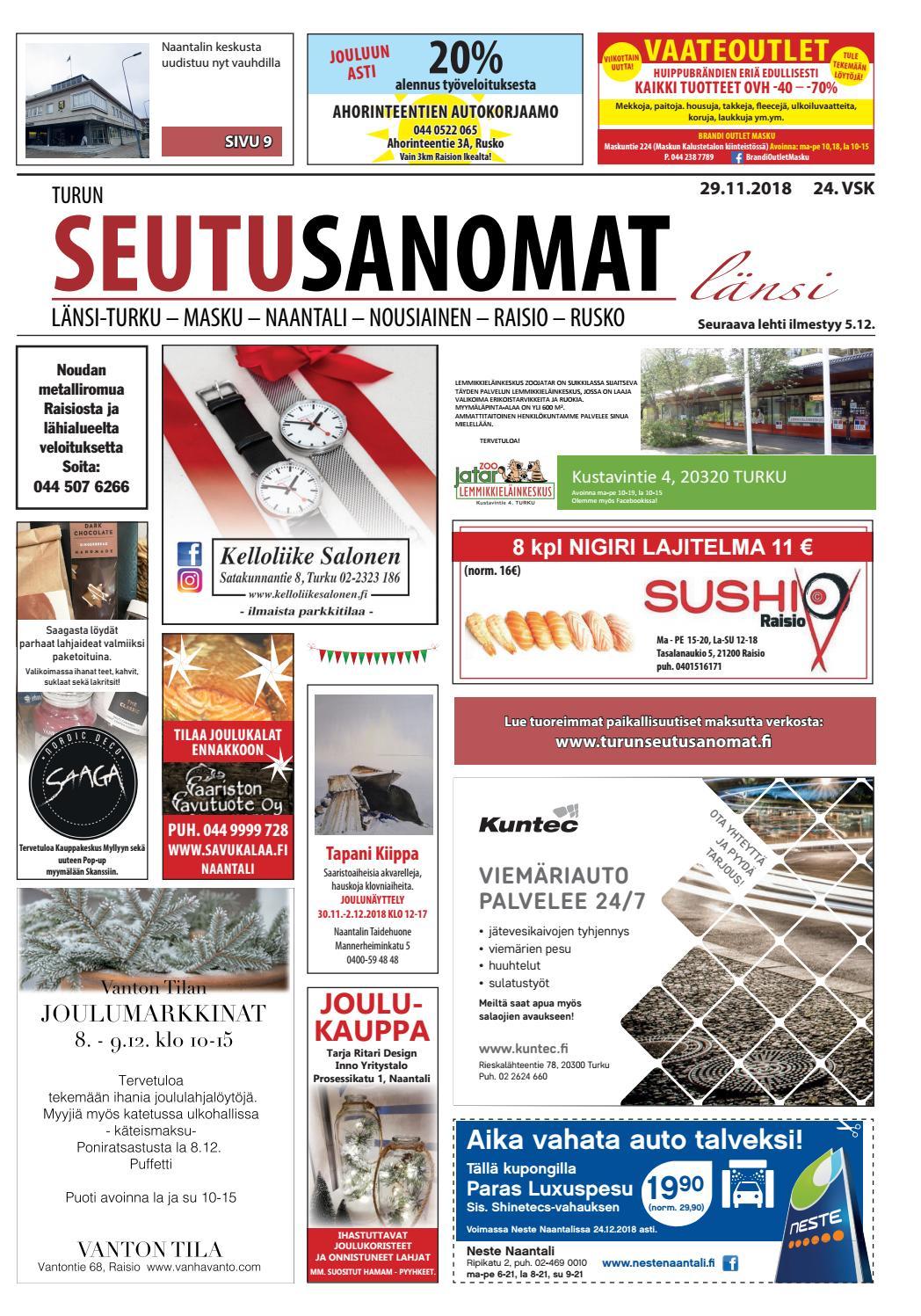 Turun Seutusanomat länsi 29.11.2018 by Turun Seutusanomat - issuu cf884136f1