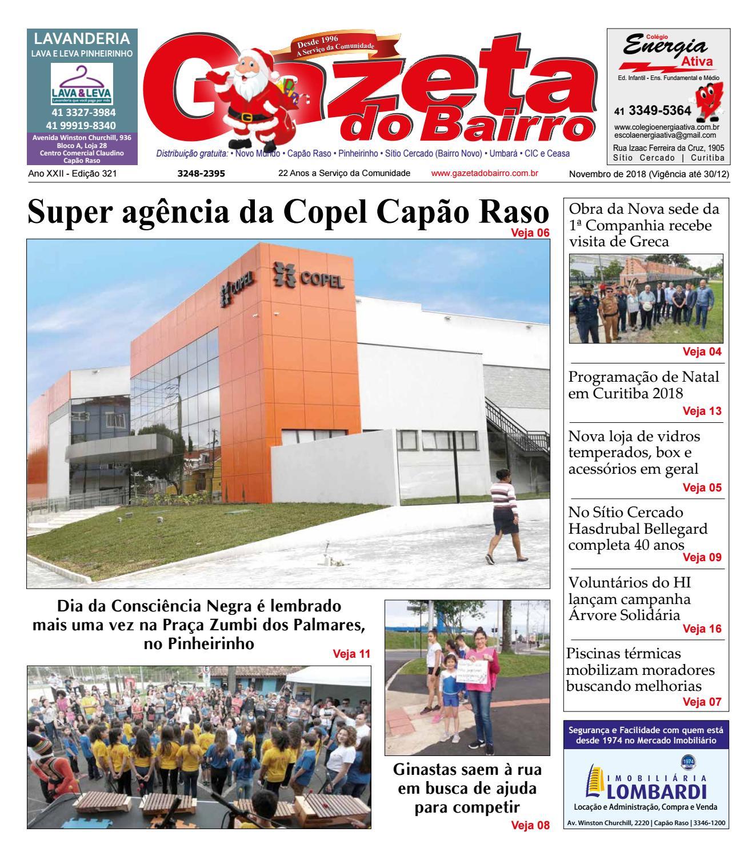 acce5de60 Gazeta do Bairro Nov 2018 by Gazeta do Bairro - issuu