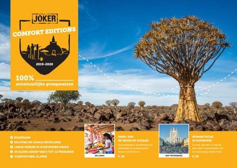 54fe946e2b2 Joker Comfort Editions reisbrochure 2019 -2020 by Joker Reizen - issuu