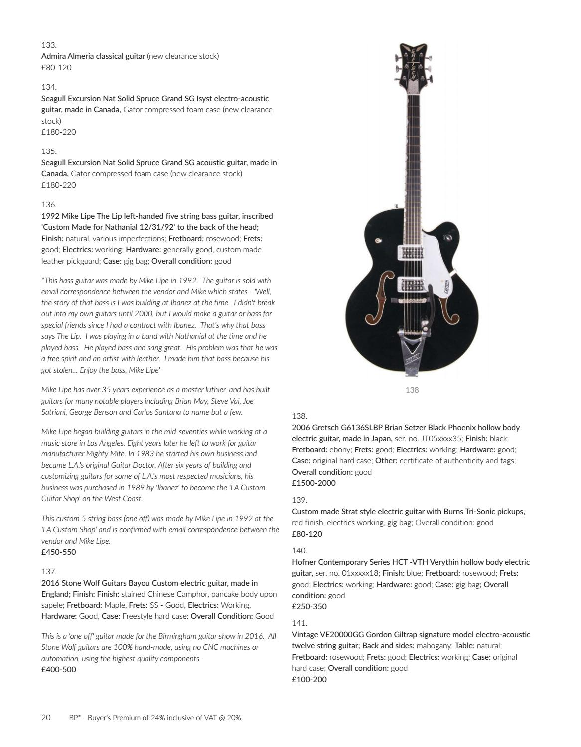 The Guitar Auction by Gardiner Houlgate - issuu