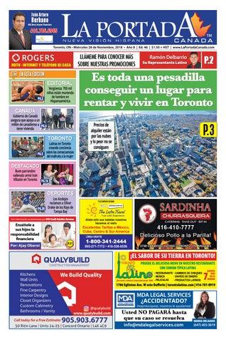 2c59a1be0 La Portada Canada by Comercio Latino - issuu