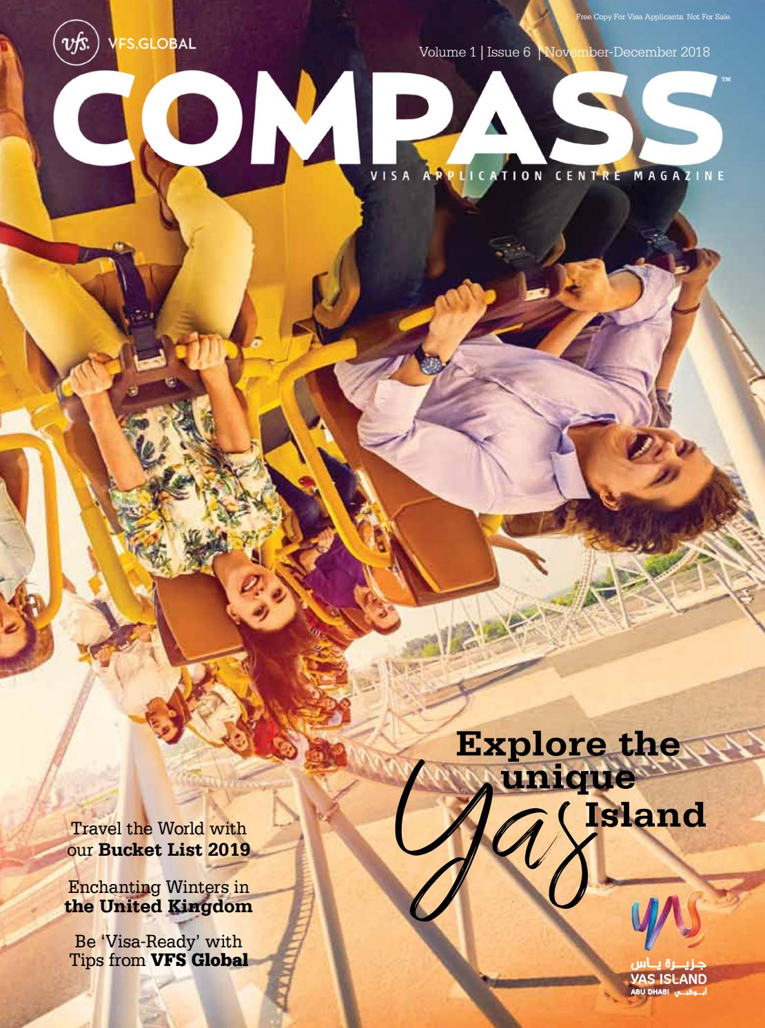 VFS Global COMPASS (UAE Edition) November - December 2018 by