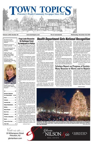 online retailer ac147 6614e Town Topics Newspaper November 28, 2018 by Witherspoon Media
