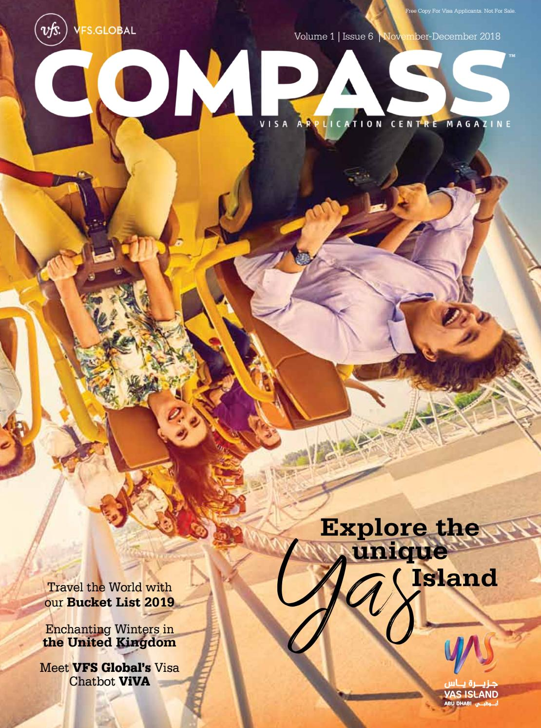 VFS Global COMPASS (India Edition) November - December 2018