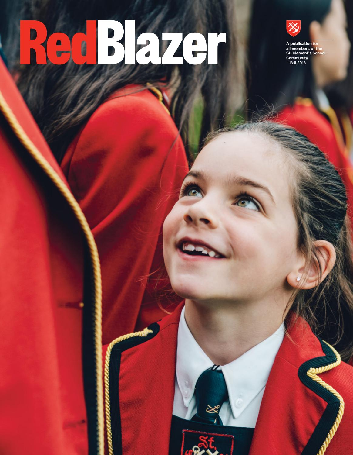 Red Blazer - Fall 2018 by St  Clement's School - issuu