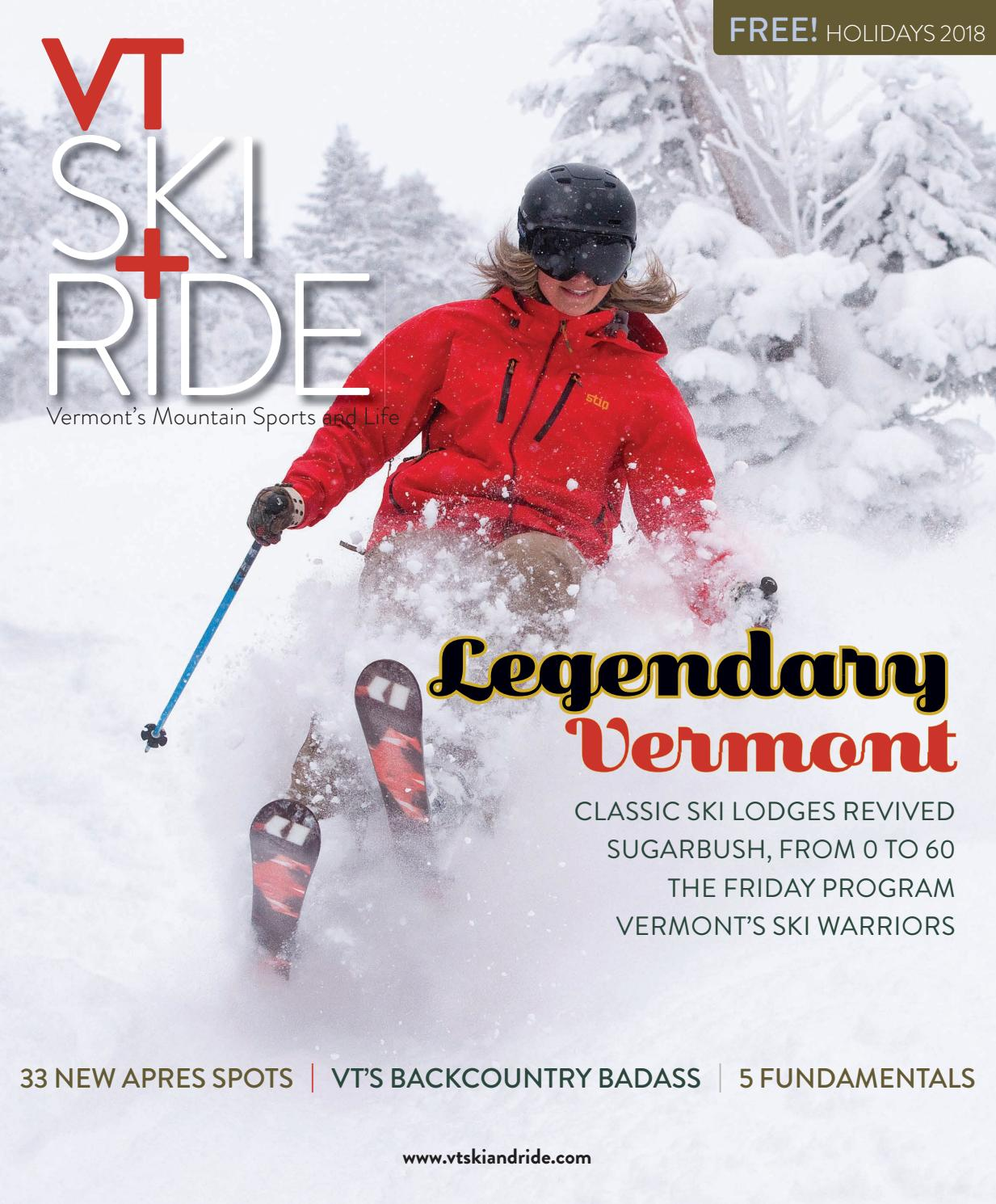 Vermont Ski and Ride Holidays, 2018 by AddisonPress - issuu