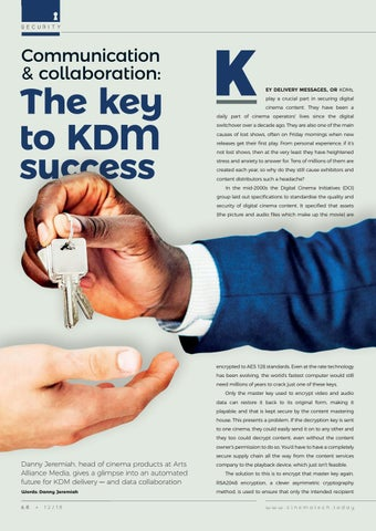 Page 68 of The key to KDM success.