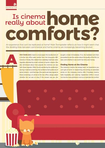 Page 72 of Is cinema really about home comforts?