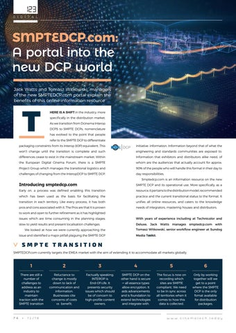 Page 74 of SMPTEDCP.com: A portal into the new DCP world
