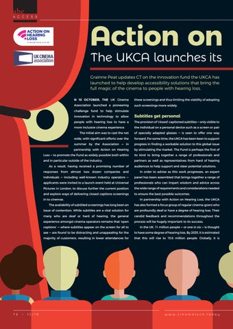 Page 76 of Action on Accessibility: The UKCA launches its Technology Challenge Funding