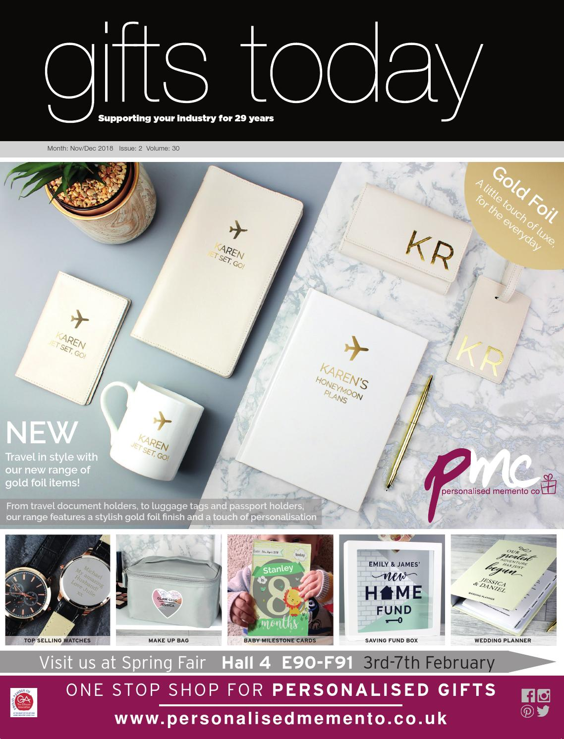Gifts Today Nov/Dec 2018 by Lema Publishing - issuu