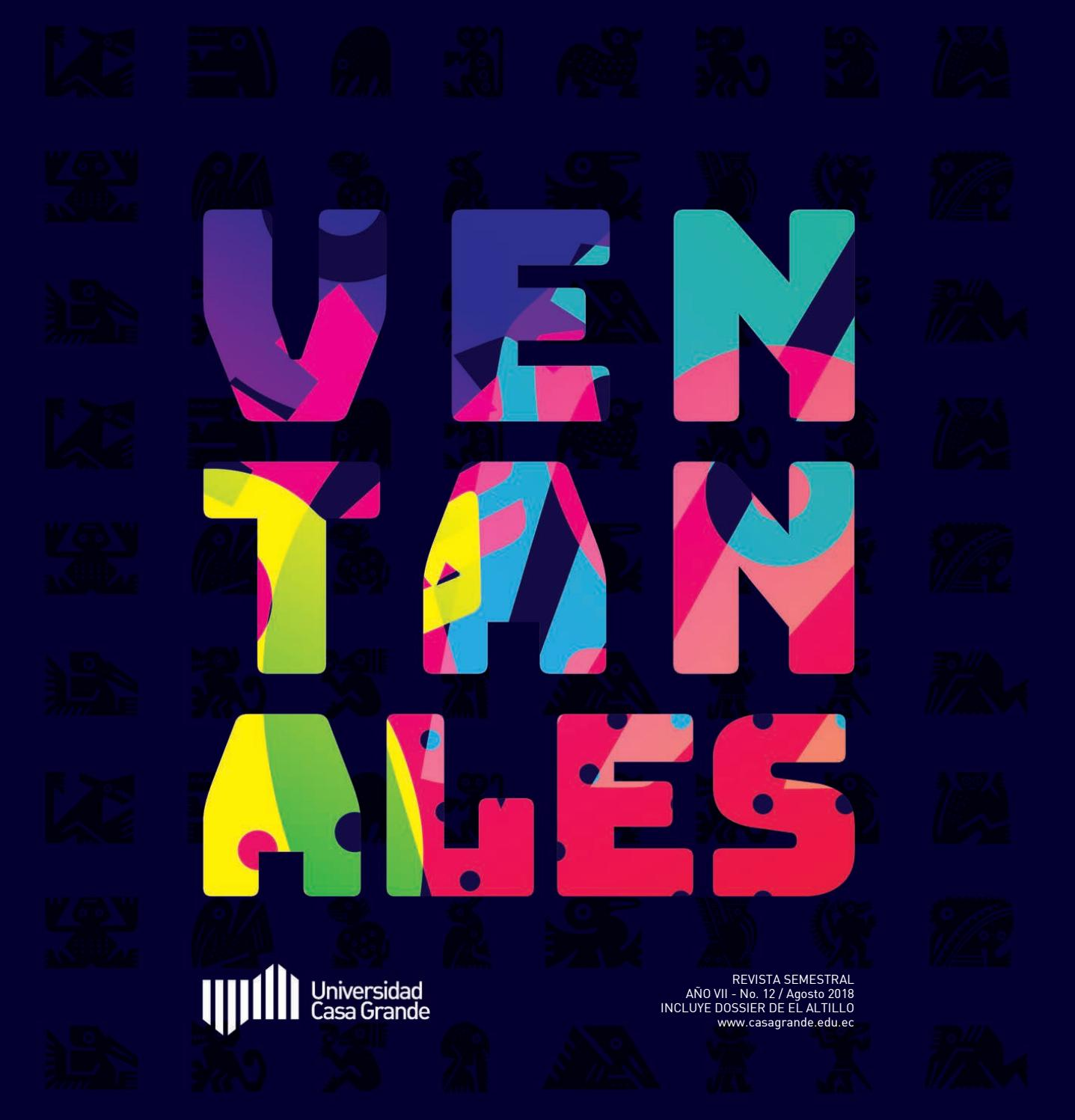 Ventanales 12 by Publicaciones Universidad Casa Grande issuu