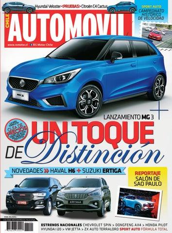 69394452b000 Revista Automóvil Panamericano Edición Chilena Nº109 (Noviembre 2018 ...