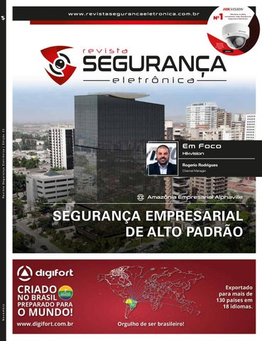 Revista Segurança Eletrônica - Edição 22 - Novembro de 2018 by ... 8e5ba62773