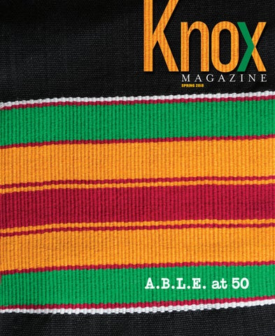45adc2da7e Knox Magazine - Spring 2018 by Knox College - issuu