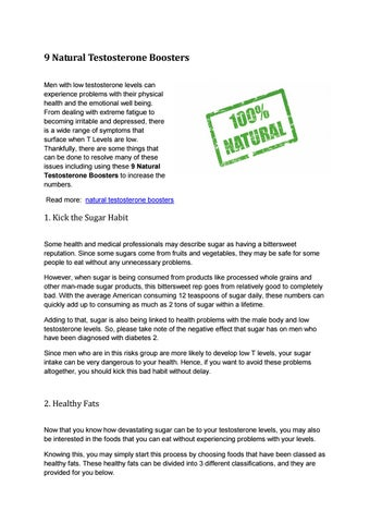 Natural Testosterone Boosters by Andro Fuel - issuu