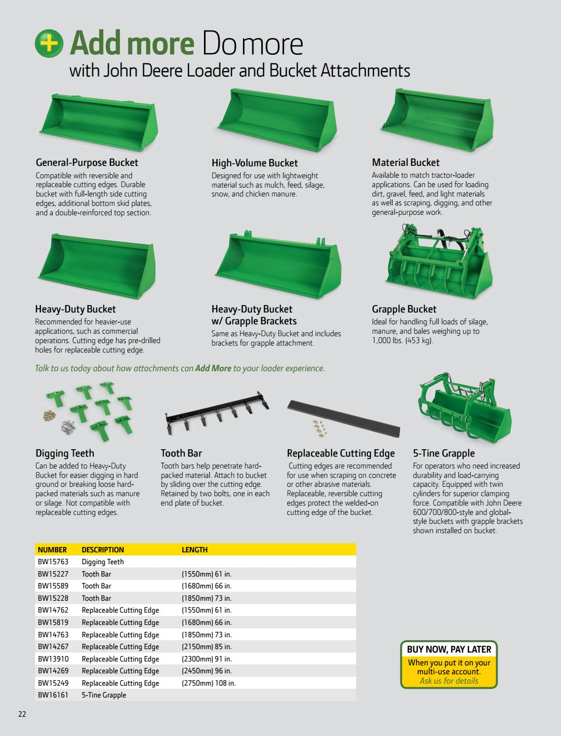John Deere Winter Catalog by teamsi - issuu