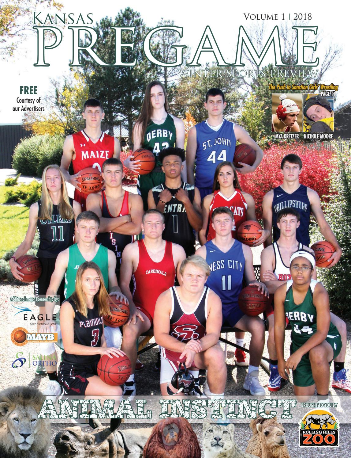 6983f6f67cd5 Kansas Pregame Winter Sports Preview 2018 by Sixteen 60 Publishing Co. -  issuu