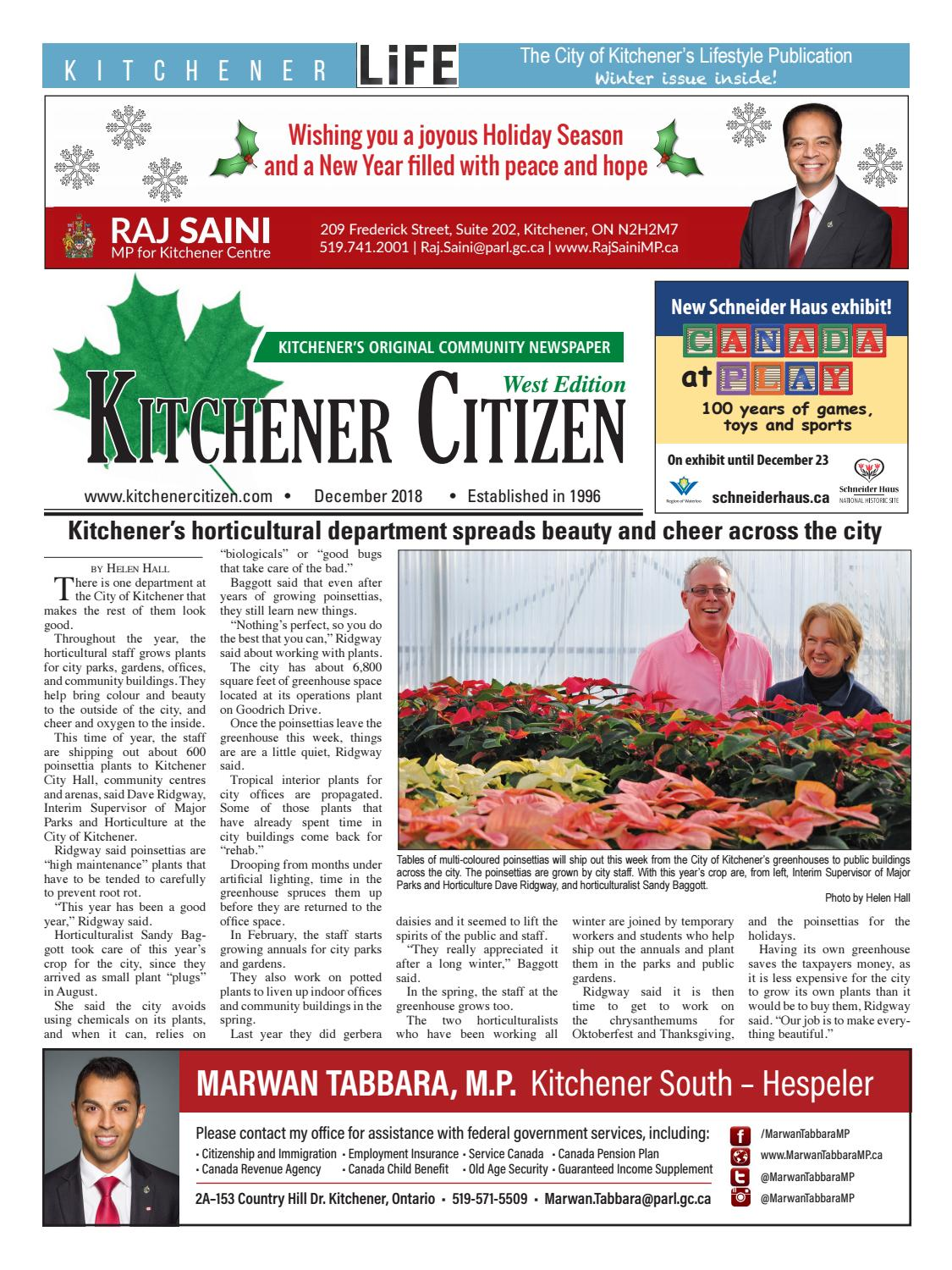 Kitchener Citizen West Edition December 2018 By Basement Wiring Group Picture Image Tag Keywordpicturescom Issuu