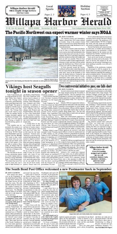 November 28, 2018 Willapa Harbor Herald by flannerypubs - issuu