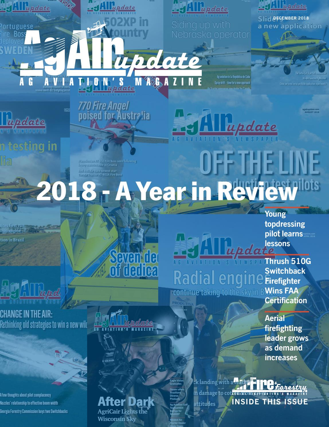 e261a765927 December 2018 - U.S. Edition in English by AgAir Update - issuu