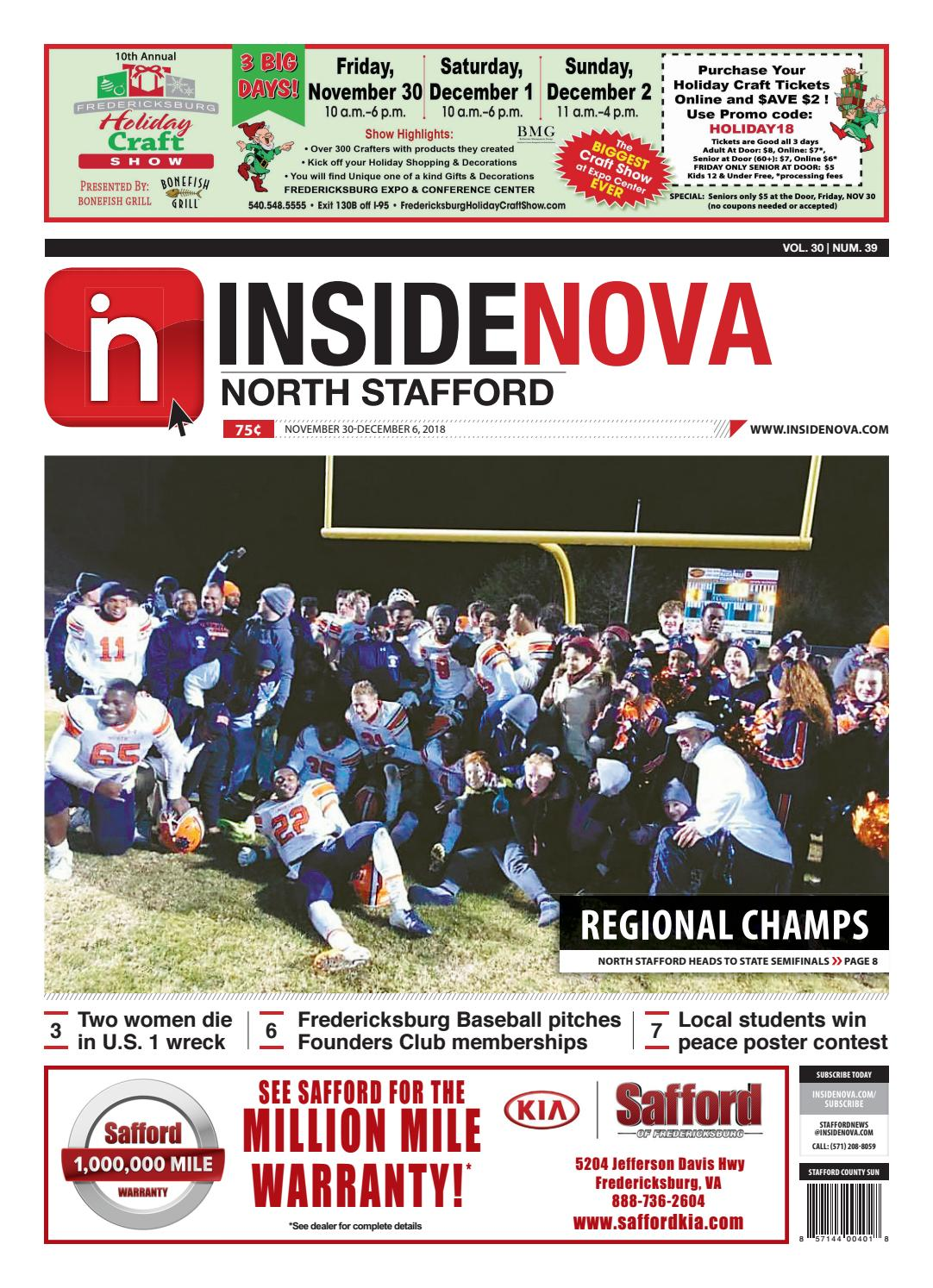 InsideNoVa/North Stafford, November 30, 2018 by InsideNoVa