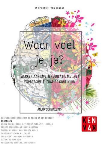 f1e931fc1dd Onderzoek Waar voel je je, Anouk Schwalbach by Nederlandse ...