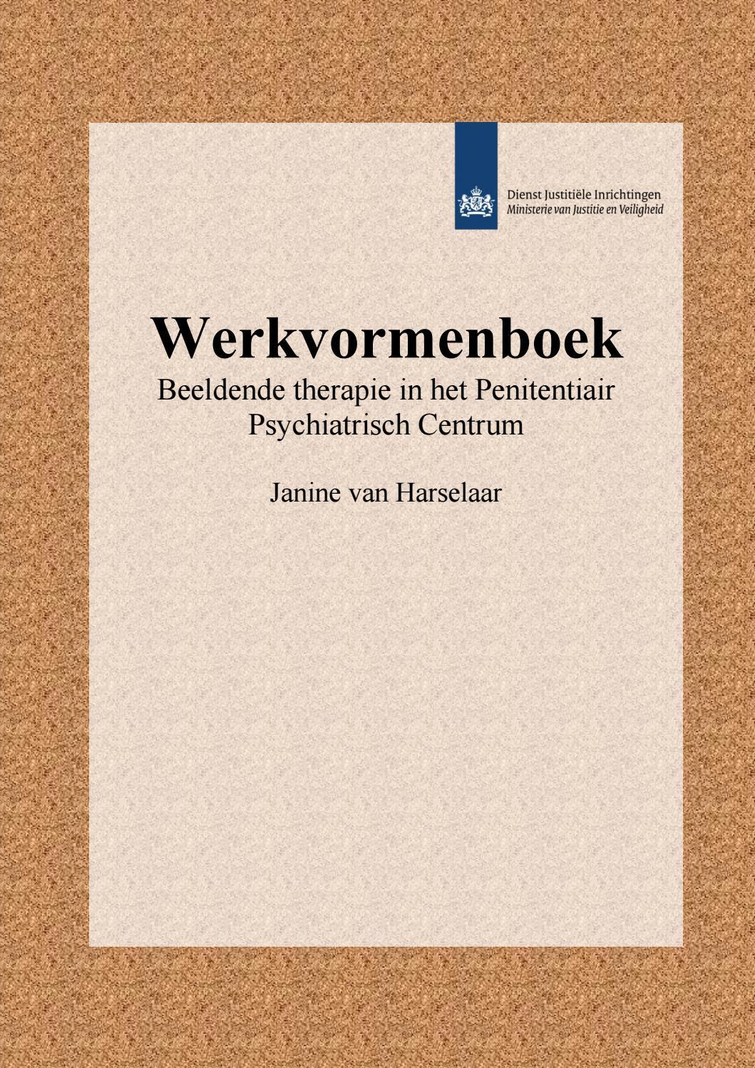 Ongebruikt Werkvormenboek, Janine v Harselaar by Nederlandse Vereniging BV-15