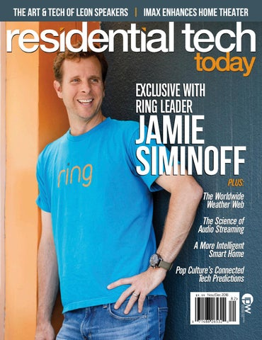 Residential Tech Today Nov/Dec 2018 by Innovation & Tech Today - issuu