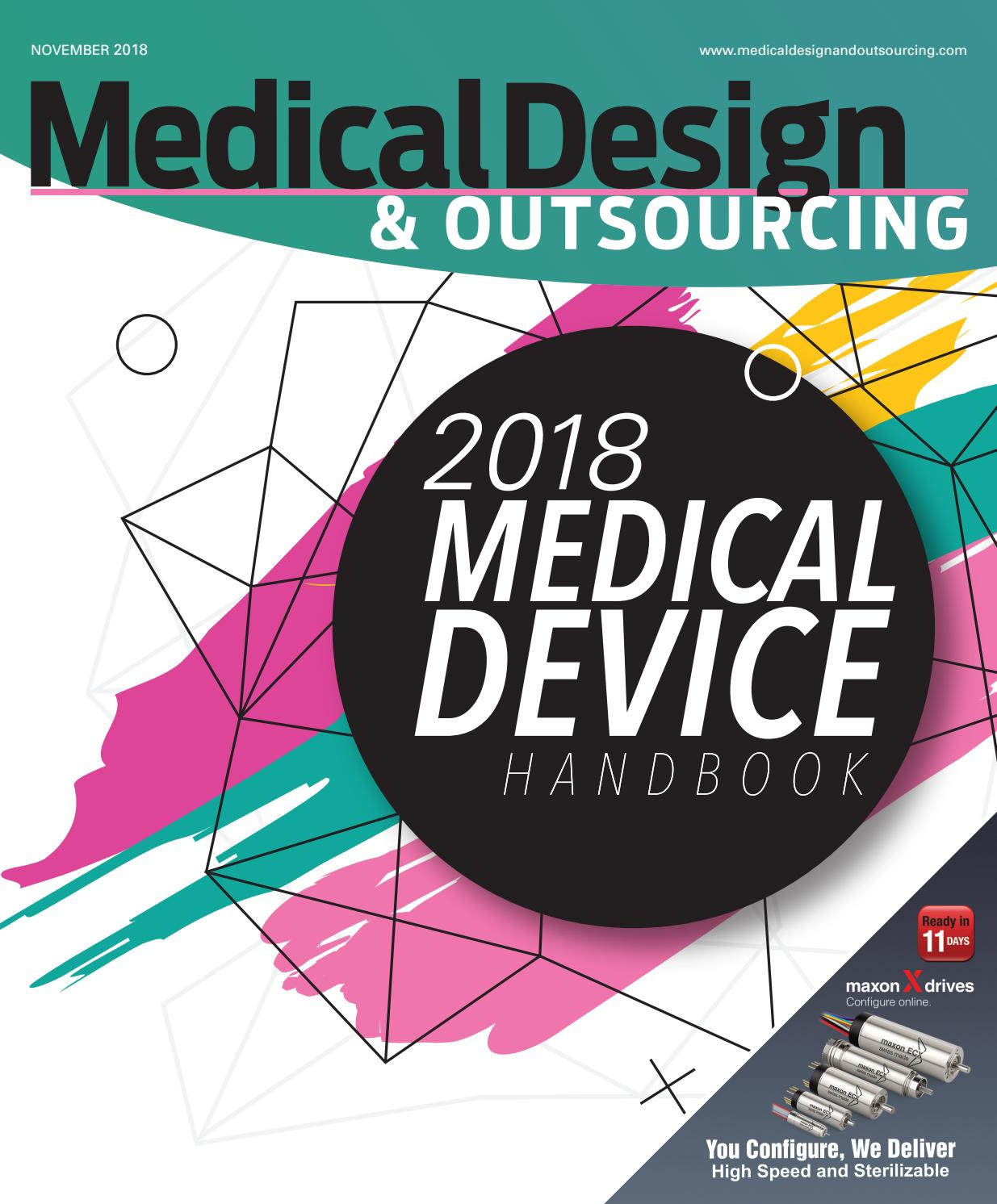 Medical Design & Outsourcing — NOVEMBER 2018 by WTWH Media