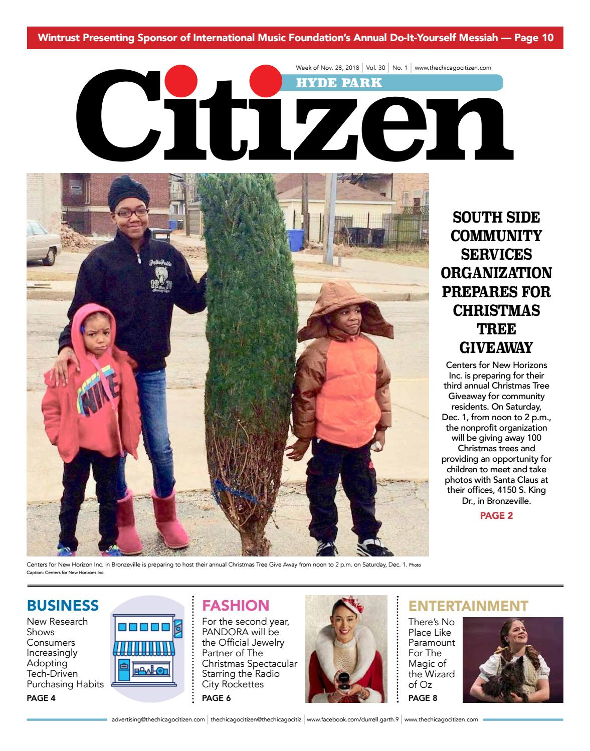 5b00cdfa4 Hyde Park Citizen 11-28-2018 by CHICAGO CITIZEN NEWSPAPERS - issuu