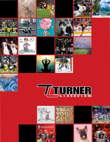 f6ce40d6bbb 2019 Turner Licensing Catalog by The LANG Companies - issuu