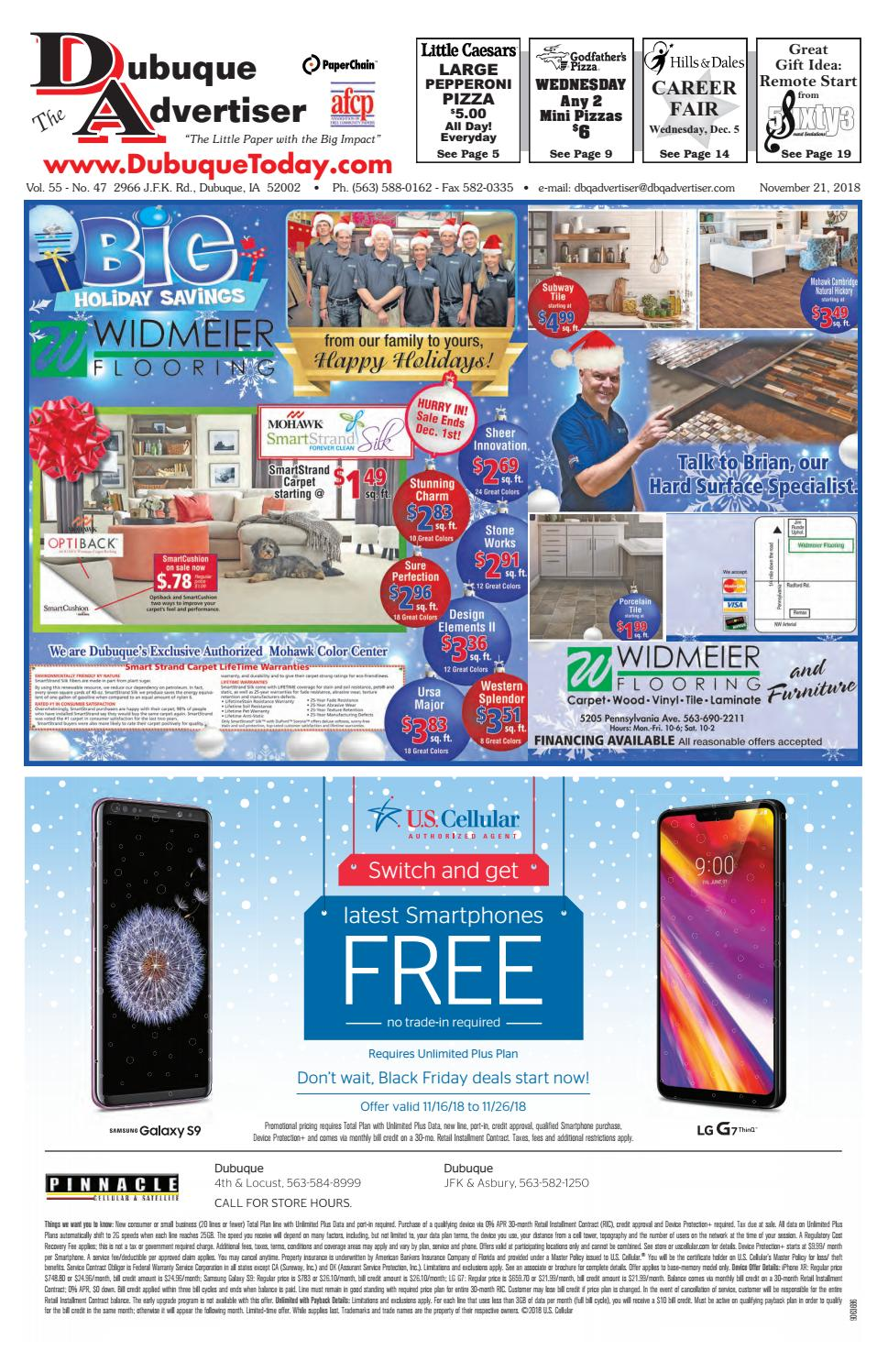 145e9cb2d5 The Dubuque Advertiser November 21, 2018 by The Dubuque Advertiser - issuu