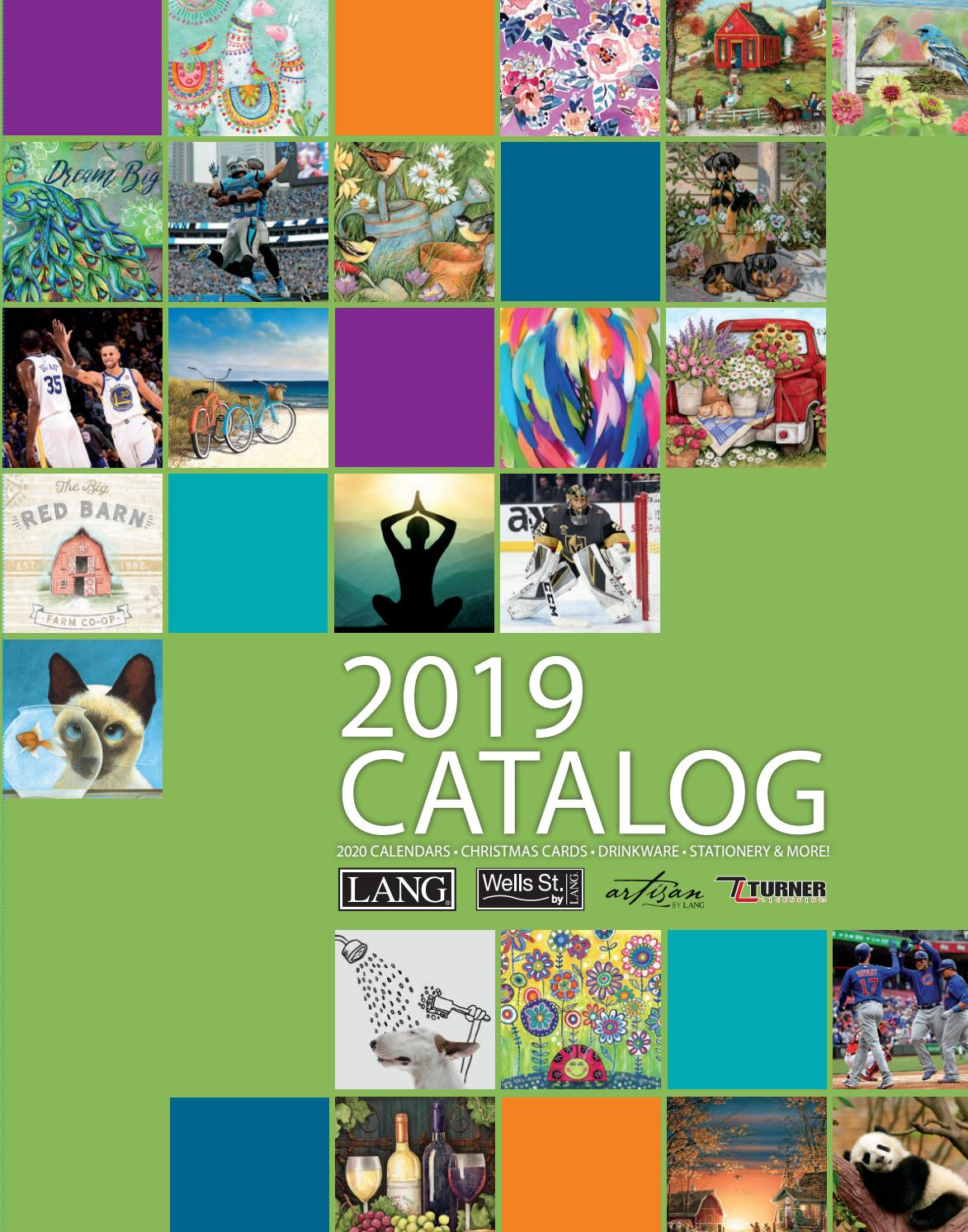 2019 LANG Catalog by The LANG Companies - issuu